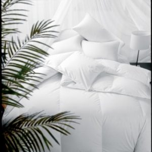 Enjoy the luxury of BedBathHome's Pyrenees 100% Duck Down Comforter featuring butter soft 230 Thread Count and 100% Cambric Cotton Cover. Quality made in the USA, we offer 3 different sizes for every room in your home.