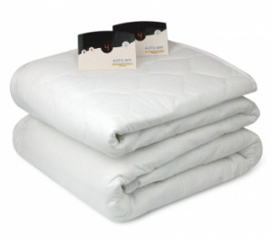 Our Luxurious Quilted Heated Mattress Pad features digital control,  10 personal heat settings, Auto Shut-Off, and is machine washable and dryable.