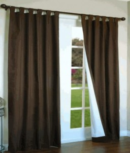Weathermate Insulated Tab Top Curtain Panel Pair uses Thermalogic proven technology to save energy while blocking out the heat, sun or cold air. Choose from a wide array of colors: Natural, Terracotta, Chocolate, Blue, Sage, Khaki, Burgundy, Navy & White