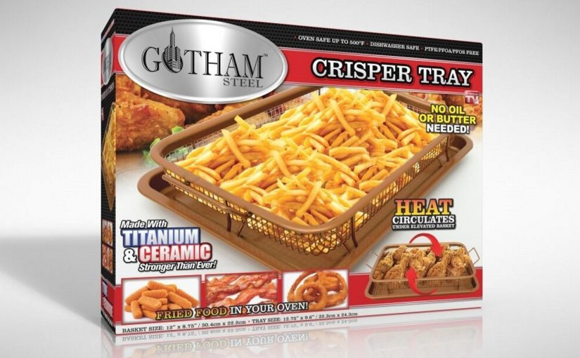 Gotham Steel Crisper Tray Review: Fried Foods in the Oven?