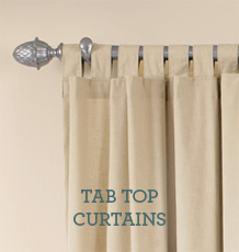 HOW TO MEASURE  Tab Top Curtains