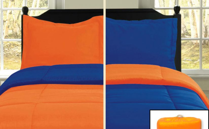 Go Back to School with a Reversible Comforter & Sheet Sets