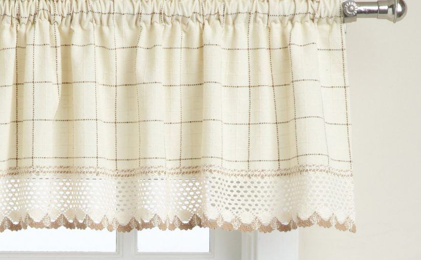 Top Your Windows with Valances!