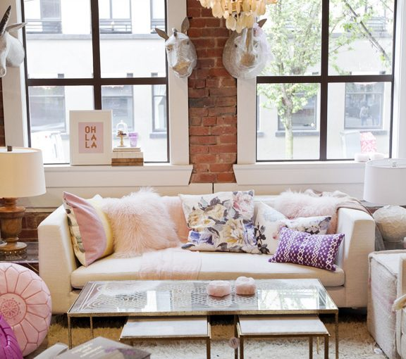 How To Decorate With Blush Pink