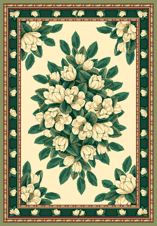 Manhattan Magnolia Cream Area Rug By United Weavers
