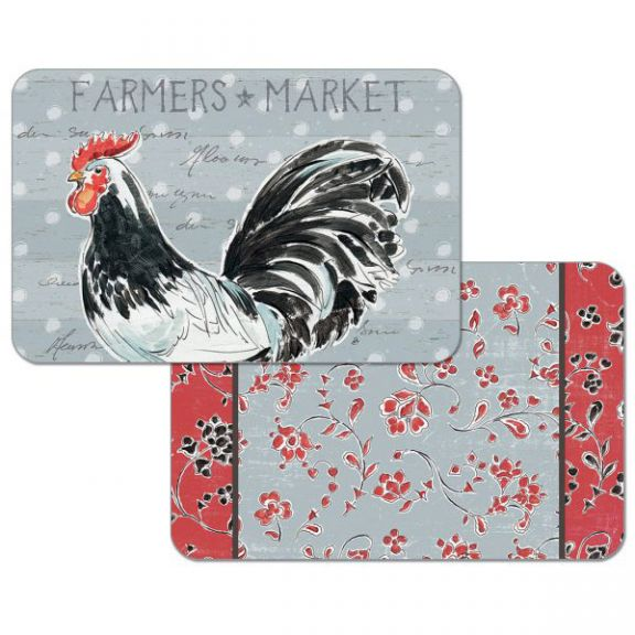 Rooster Call Reversible Placemat Altmeyer S Bedbathhome