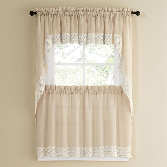 Great Salem French Vanilla Tier Curtain