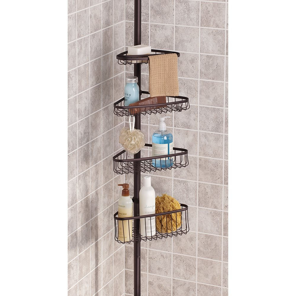 Bronze Corner Shower Caddy | RevolutionHR