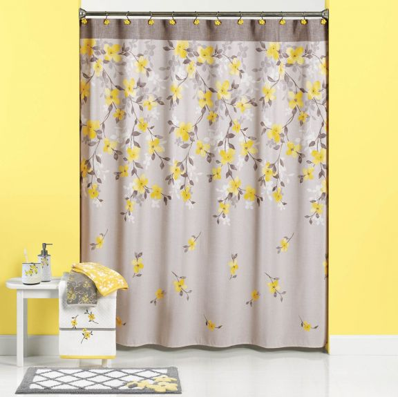 Spring Garden Shower Curtain And Bath Accessories