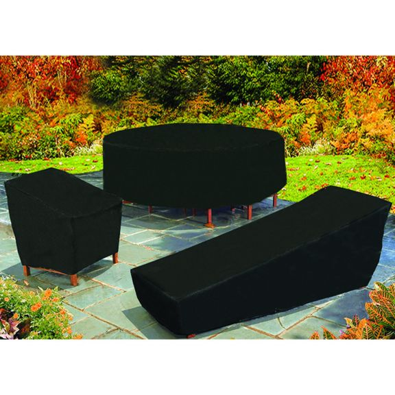 outdoor furniture and patio black vinyl covers - Outdoor Furniture Black Vinyl Covers