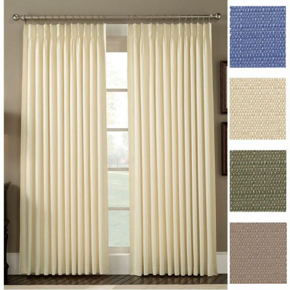 add panels french window pair neutral of then pleats curtain choose and pin pleated your single inverted trim pinteres fold drapery option parisian to curtains a