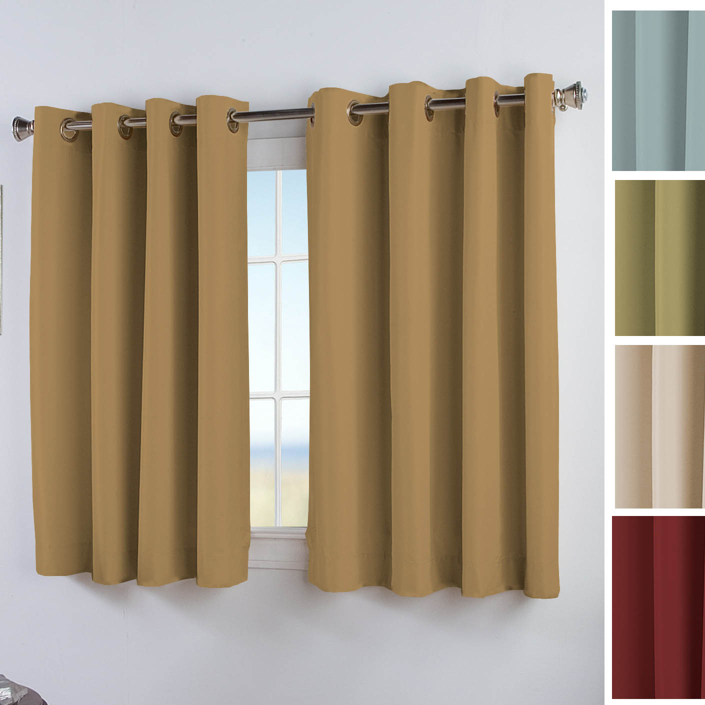 Elegance Insulated Short Grommet Curtain Panel Altmeyer