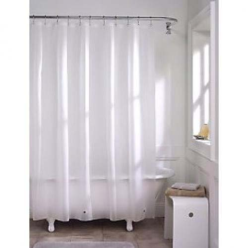 Maytex Super Softy FROST Shower Curtain Liner: BedBathHome.Com