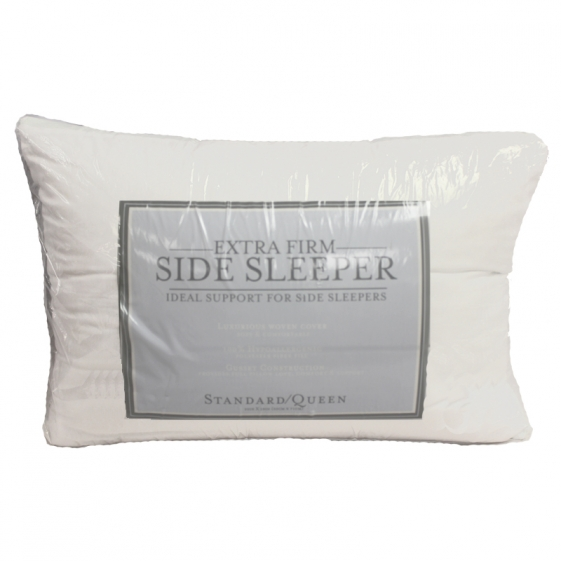 Extra Firm Density Side Sleeper Pillows