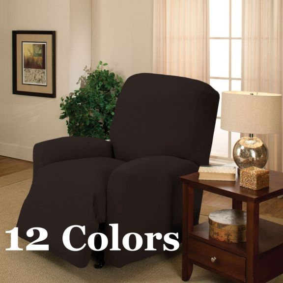 Madison Home Stretch Jersey Large Recliner Slipcover. Home Stretch Jersey Large Recliner Slipcover