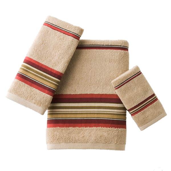 Buy Madison Striped Red Towel Collection Bedbathhome Com