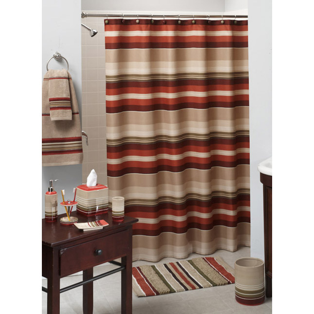 Madison Stripe Complete Bath Collection
