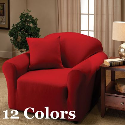 Madison Home Stretch Jersey Chair Slipcover. Madison Home Stretch Jersey Sofa Slipcover