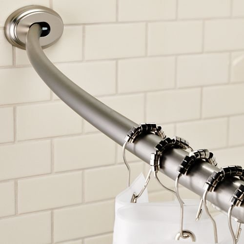 Maytex Curved Smart Rod Tension Shower Bar