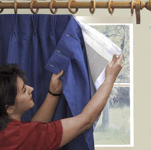 buy thermalogic thermal blackout curtain liner attaches with no sewing