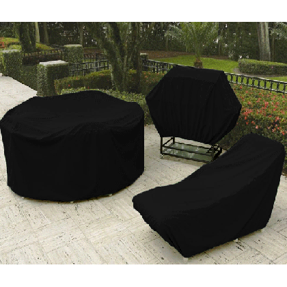 outdoor furniture and patio black vinyl covers - Outdoor Furniture Covers Vinyl Patio Furniture Covers