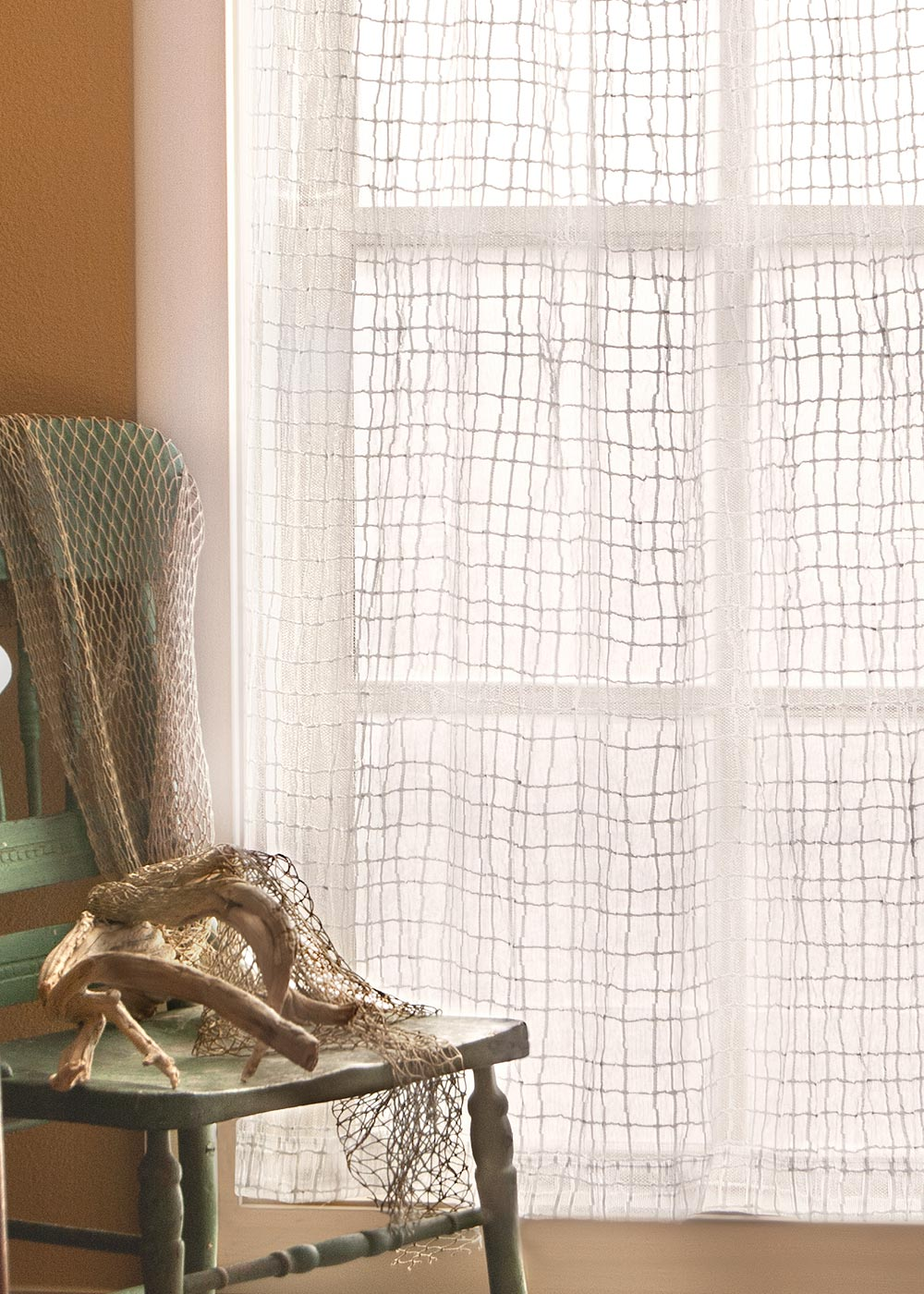 Seacoast Lace Curtains by Heritage Lace