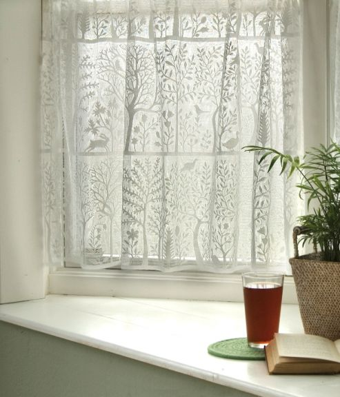 Rabbit Hollow Lace Curtains By Heritage