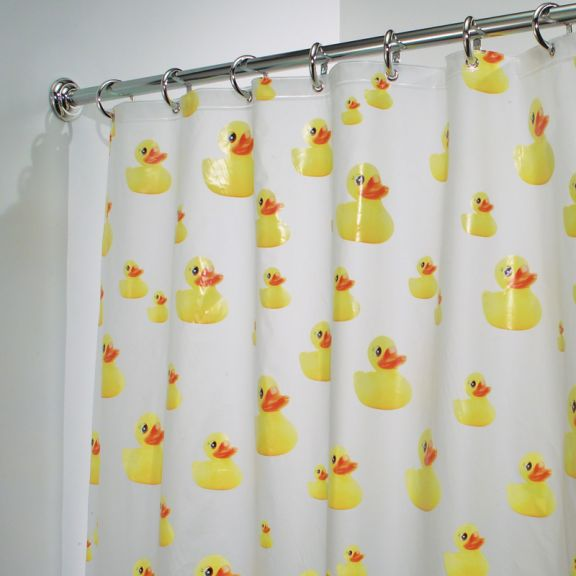 yellow and teal shower curtain. Yellow Rubber Ducks EVA Shower Curtain InterDesign PVC Free