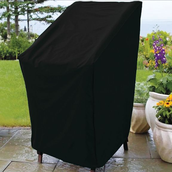 outdoor patio stacking chair cover rh bedbathhome com inexpensive patio chair covers