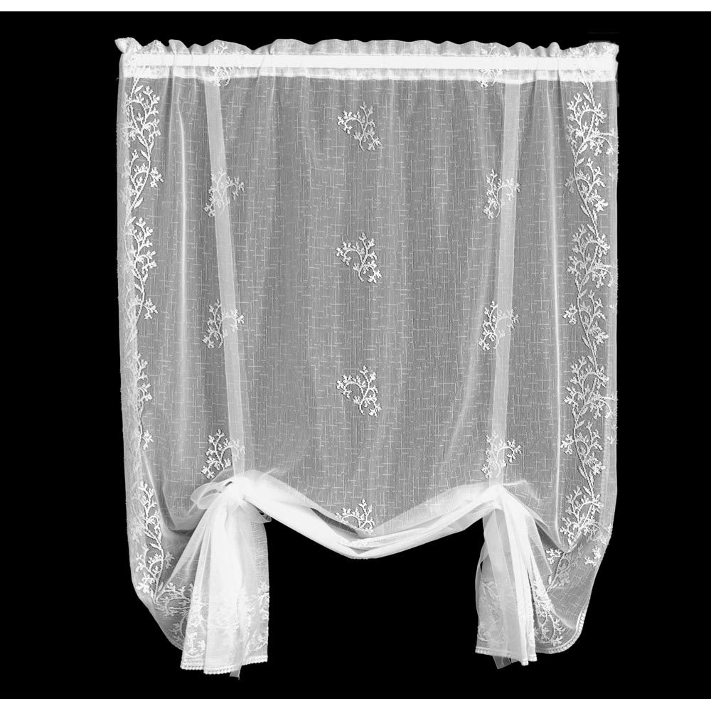 Christmas Curtain Panels Candles