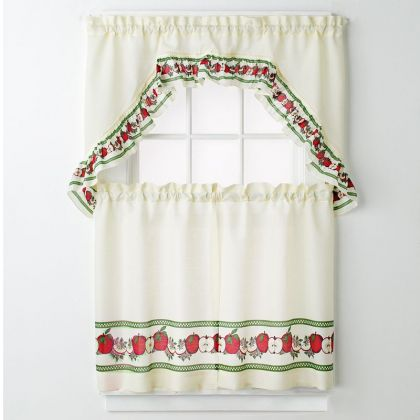 Birdhouse Kitchen Curtains Interesting Ideas