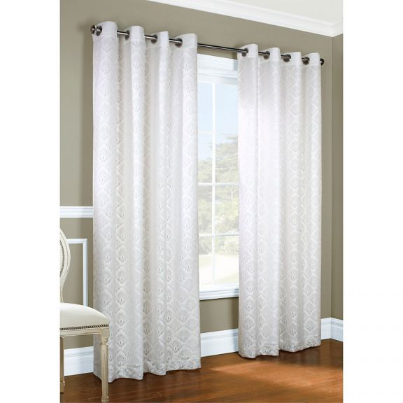 Anna ThermaLace Insulated Grommet Curtains