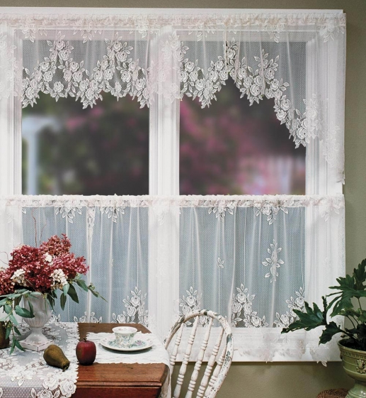 Adding Lace To Your Home Decor Lace Curtains Rue De France Chic Home Decor Sheer Lace Voile