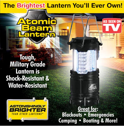 As Seen On Tv Atomic Beam Lantern The Ultimate Portable