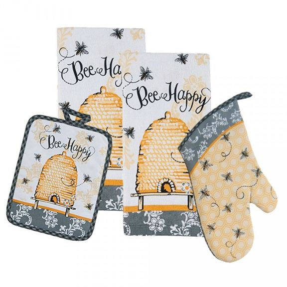 Kay Dee Designs Bumble Bee Happy Kitchen Ensemble