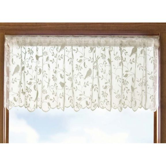 Heritage Lace Bird Song Bristol Garden Lace Valance