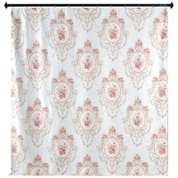 Cameo Shower Curtain By M Style