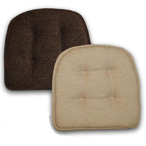 Brown Or Tan Gripper Chair Pads