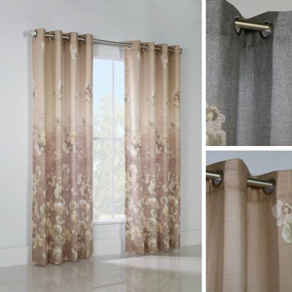 thermalogic chamberlain floral printed curtain panel - Thermal Curtains