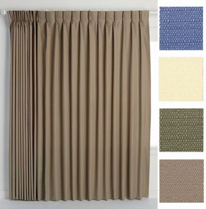 Good Crosby Pinch Pleat Thermal Room Darkening Patio Panel