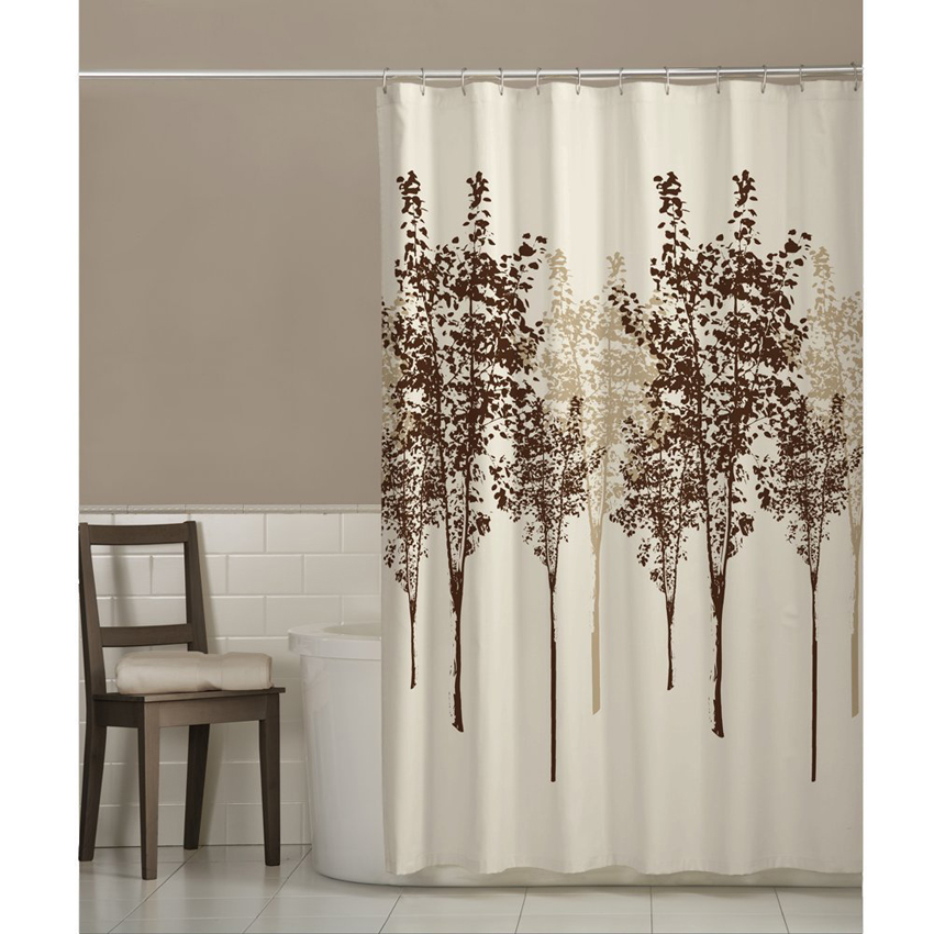 Buy Delaney Fabric Tree Shower Curtain By Maytex
