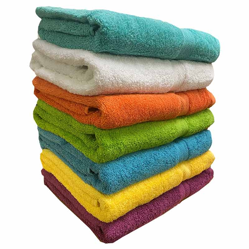 Deluxe Bright Bath Towel Collection