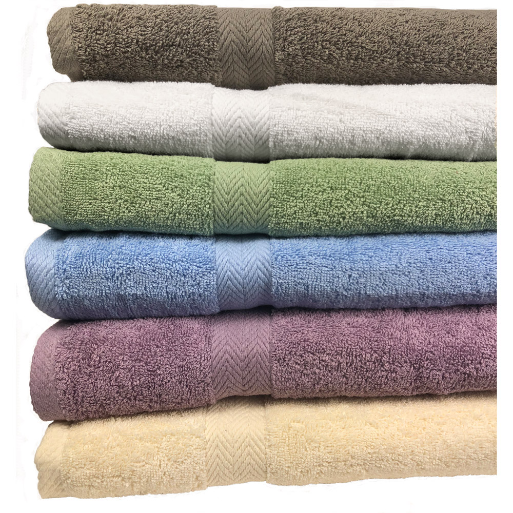 Deluxe Spa Bath Towel Collection