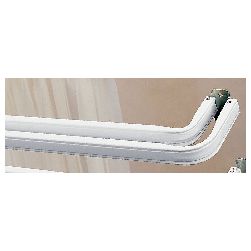 kirsch lockseam double curtain rod