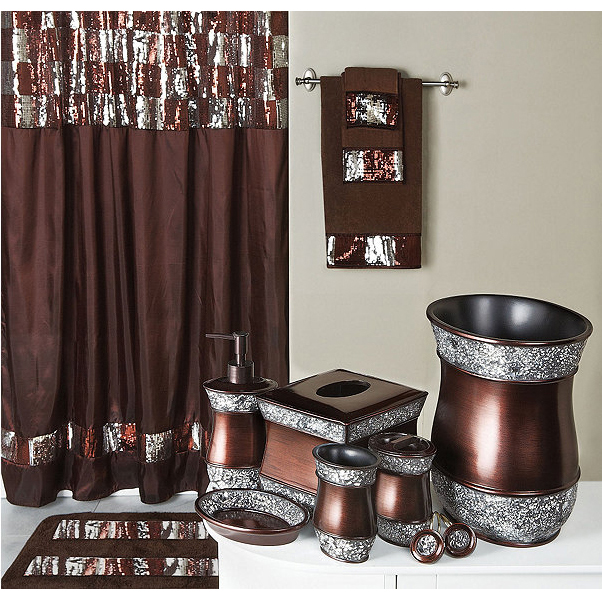 Shower Curtain With Accessories