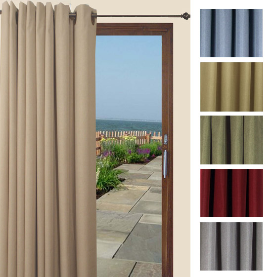 Glasgow Grommet Patio Curtain Panel By Ricardo