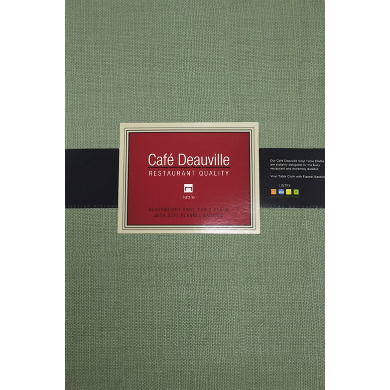 Sage Green Vinyl Tablecloth Or Placemat   Restaurant Quality:  BedBathHome.Com
