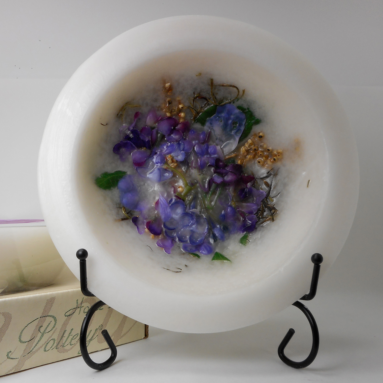 Habersham Wax Pottery Bowl Lilac Blossom