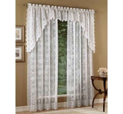 Lace Curtain Panels Heritage Curtains Altmeyer S Bedbathhome