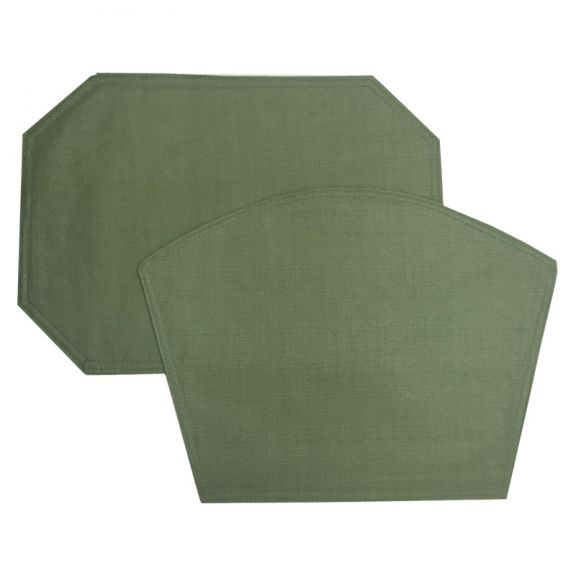 Sage Green Vinyl Tablecloth Or Placemat   Restaurant Quality